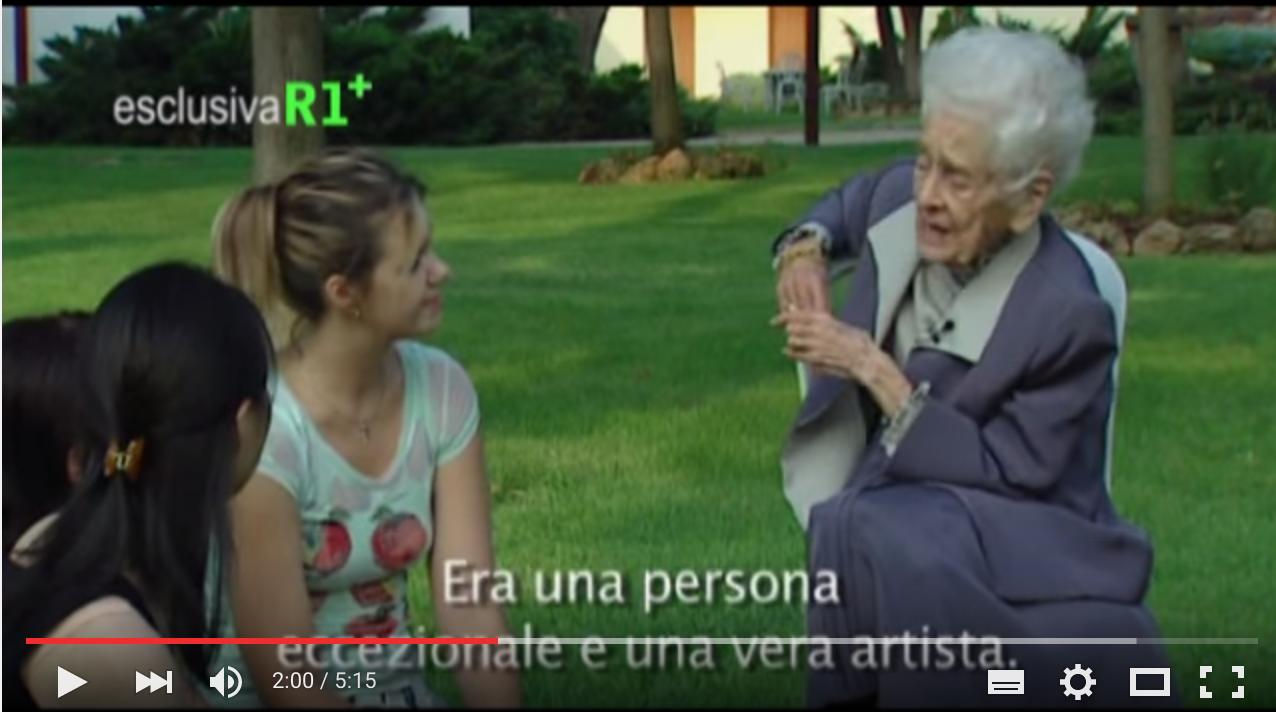Intervista A Rita Levi Montalcini
